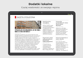 Screenshot of Gazeta Wyborcza