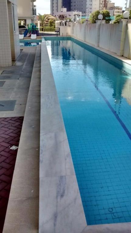 Apartamento com 3 dormitórios para alugar, 85 m² por R$ 1.500,00/mês - Jardim Oceania - João Pessoa/PB