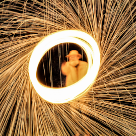 Wool in the park by Mike Gardner - Abstract Fire & Fireworks