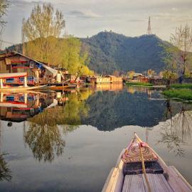 Life at Dal lake by Amrita Bhattacharyya - Instagram & Mobile iPhone (  )