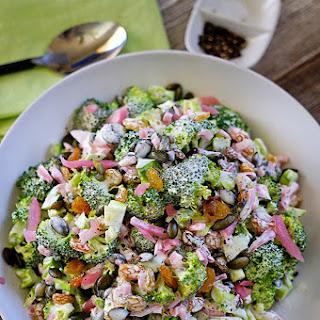 Broccoli Salad With Golden Raisins Recipes