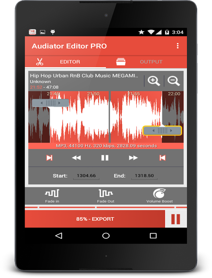MP3 Cutter Ringtone Maker PRO Screenshot 4