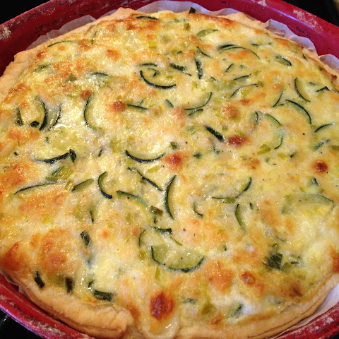 Cheese and Zucchini Pie