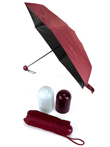 """Зонт компактный """"Капсула"""", складной, красный"""
