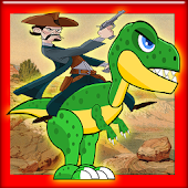 APK Game ARK Surwival Evdved Cowboy Riding Dino In Island for BB, BlackBerry