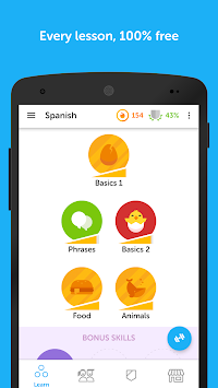 Duolingo: Learn Languages Free APK screenshot thumbnail 2