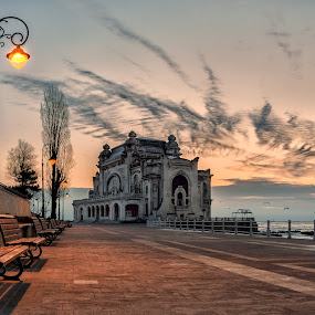 Cazino Constanta by Luca Arșinel - Buildings & Architecture Decaying & Abandoned ( arhitecture, casino, decaying, abandoned )