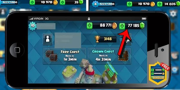 App Gems For Clash Royale Guide APK for Windows Phone