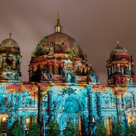 Berliner Dom - Festival of Lights 2015 by Waldemar Dorhoi - Buildings & Architecture Public & Historical ( dom, berlin )