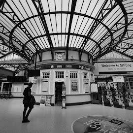 Stirling 9214 by Jani Novak - Buildings & Architecture Other Interior ( stirling railway station )