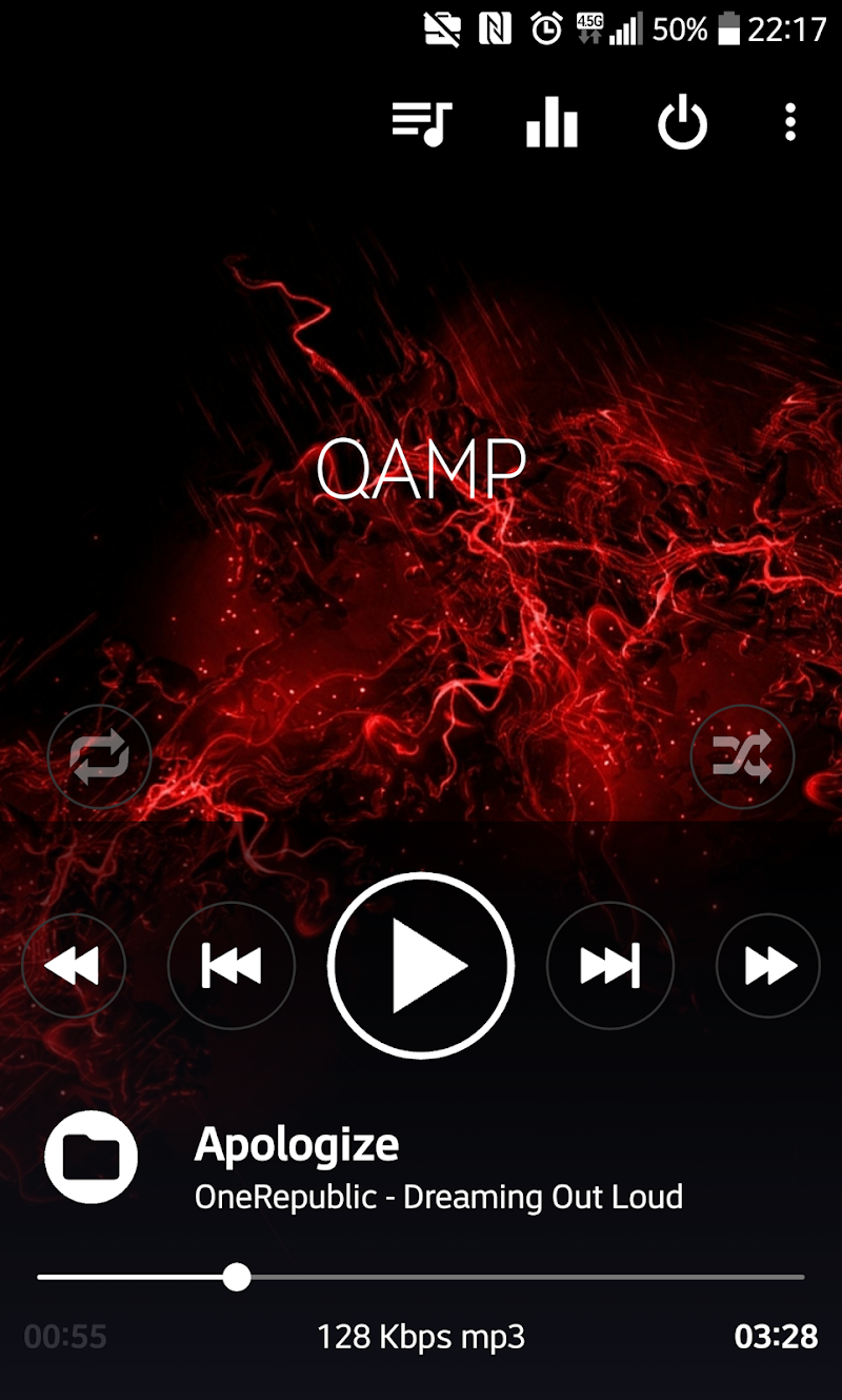 Mp3 player - Qamp Screenshot 6
