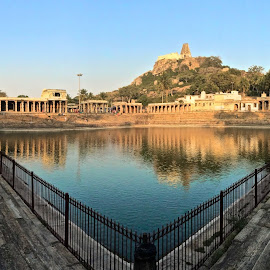 Melukote Lake & Fort Temple by Prashanth UC - Buildings & Architecture Statues & Monuments