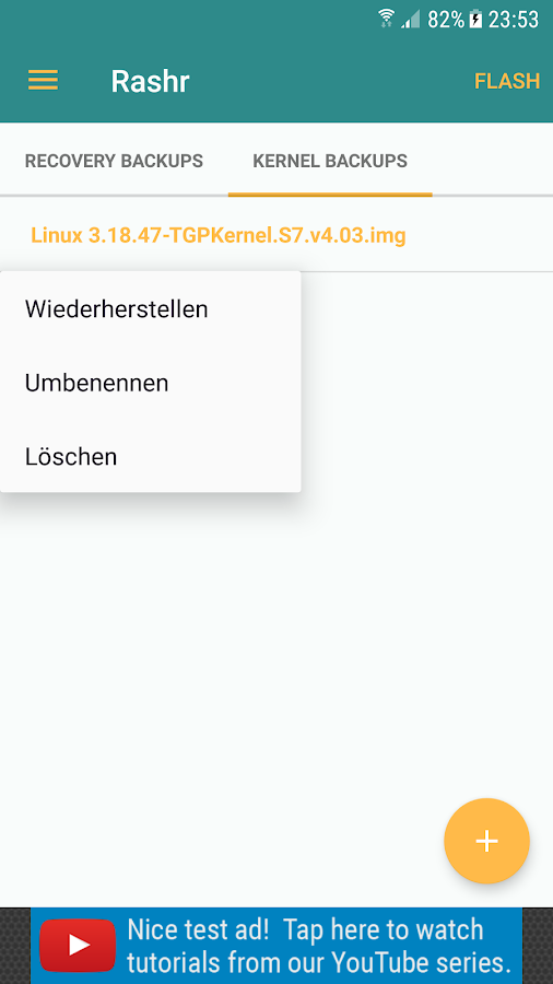 [ROOT] Rashr - Flash Tool Screenshot 6