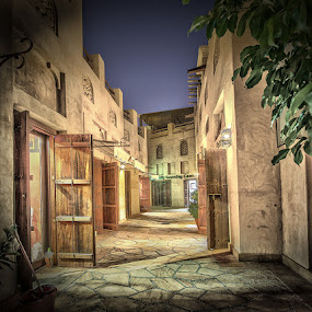 Old Days in Dubai by Wael Onsy - Buildings & Architecture Other Exteriors