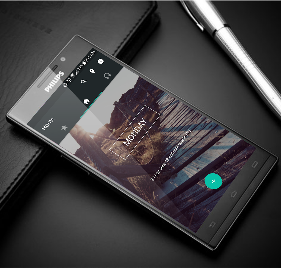 EssentialHome for KLWP Screenshot
