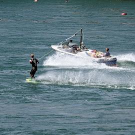 Rhein, Basel by Radisa Miljkovic - Sports & Fitness Surfing