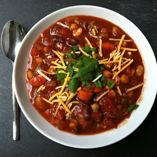Three Bean Fire Roasted Chili