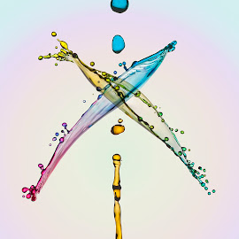 The X by Aditya Permana - Abstract Water Drops & Splashes