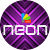 XNeon-Purple-Xperia Theme