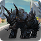 Futuristic Robot Dino Battle