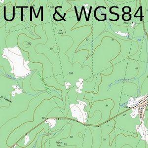 Field Topography UTM & WGS84 For PC