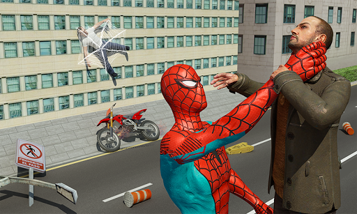 Spider Hero Crime Battle For PC