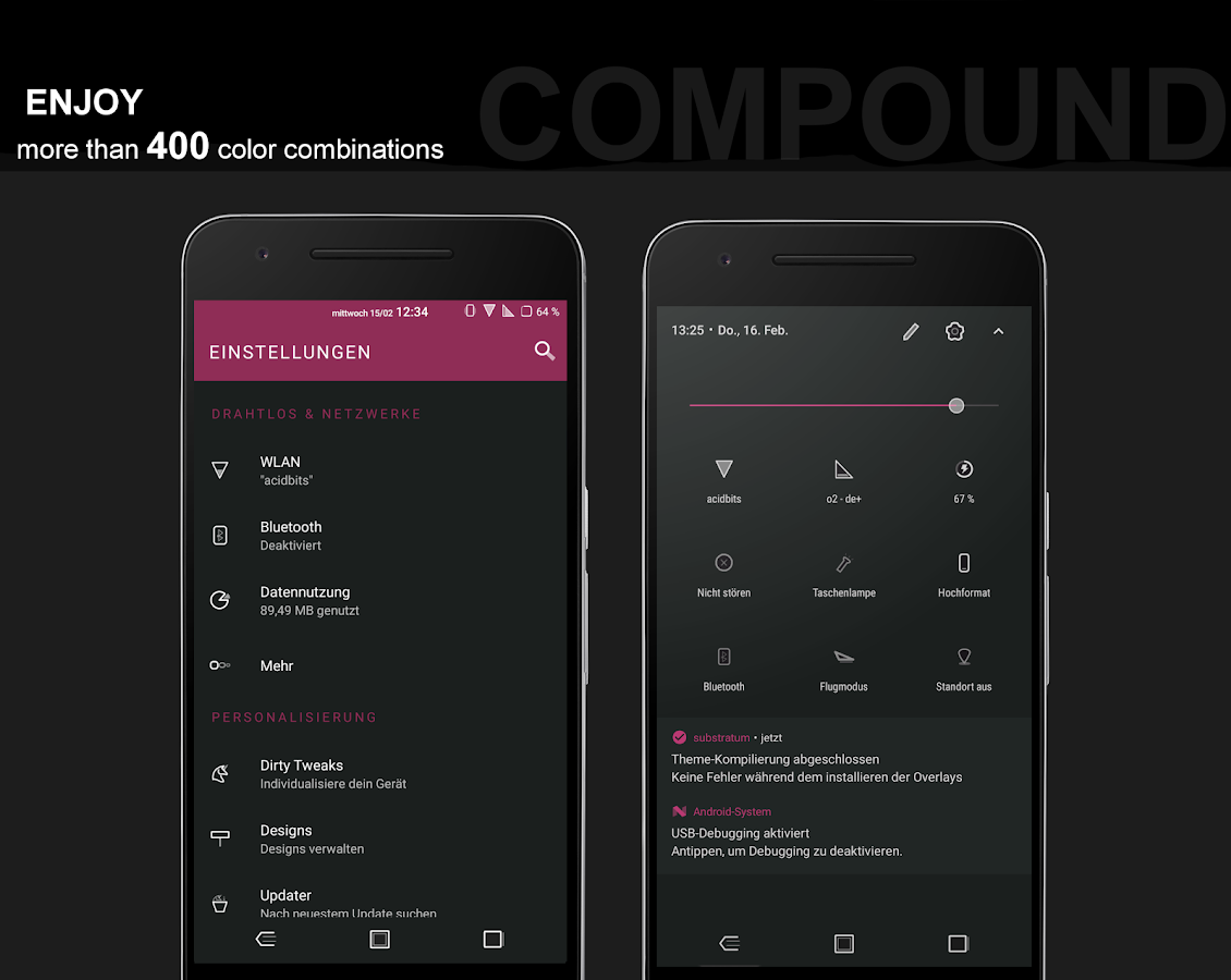 Compound for Substratum (Android Oreo/Nougat) Screenshot 14