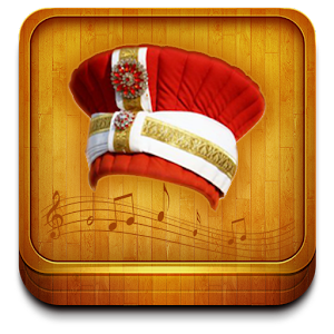 Ottoman Mehter anthem variety of music with you ... + screen Flag APK Icon