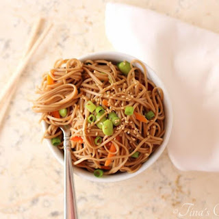 Soba Noodle With Vegetables Recipes