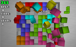 Screenshot of TetroCrate 3D: Brick Game