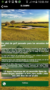 VILLANUEVA GOLF - screenshot