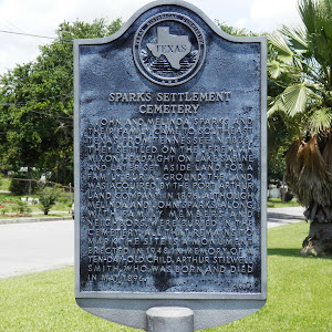John and Melinda Sparks and their family came to southeast Texas from Tennessee in 1838. They settled on the Jeremiah Mixon headright on Lake Sabine and later set aside land for a family burial ...