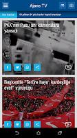 Screenshot of Ajans Haber