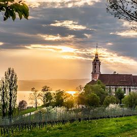 Monastery Birnau - Lake constance  by Linda Brueckmann - Buildings & Architecture Public & Historical