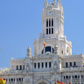Cibeles Palace - Madrid by Isa Pat - Buildings & Architecture Public & Historical ( madrid, cibelles )