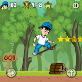 Skater Kid - Skater Boy -Extreme Skater Stunt Ride