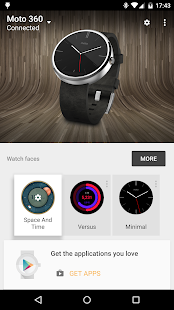 Space And Time Watch Face Screenshot