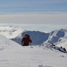 by Olsi Belishta - Novices Only Sports ( mountain, snow, korabi, albania, hiking )