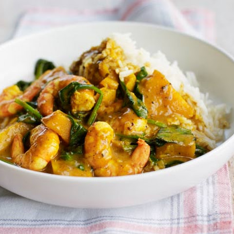 Prawn And Squash Curry
