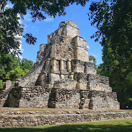 Mayan Ruins  by Margie Troyer - Buildings & Architecture Public & Historical