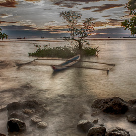 Hidden Boat by Vicky Mahendra - Landscapes Waterscapes ( photographer, waterscapes, landscapes, waterdrops, photography )