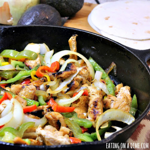 Quick Skillet Chicken Fajitas