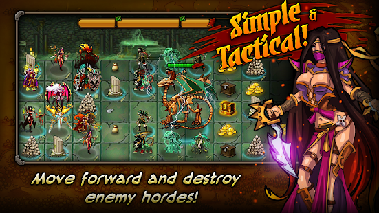 Forge of Gods - Tactical RPG - screenshot