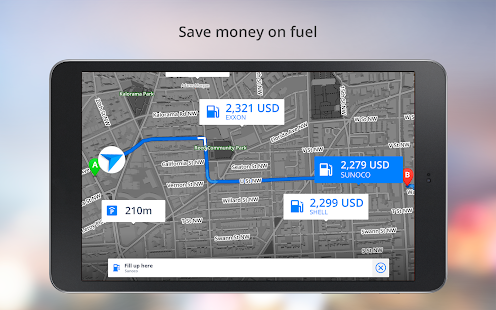 App GPS Navigation - Drive with Voice, Maps & Traffic apk for kindle fire