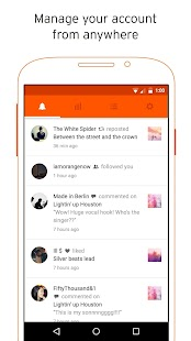 SoundCloud Pulse - für Erstellen Screenshot
