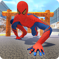 Spider Hero Training Counter Mafia For PC