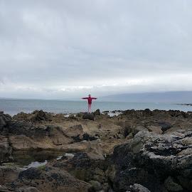 Celtic Cross by Pauline O' Grady - Landscapes Beaches