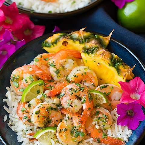 Cilantro Lime Shrimp with Coconut Rice