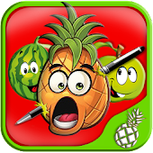 Pineapple Pen Fruit Shooter 2D APK Descargar