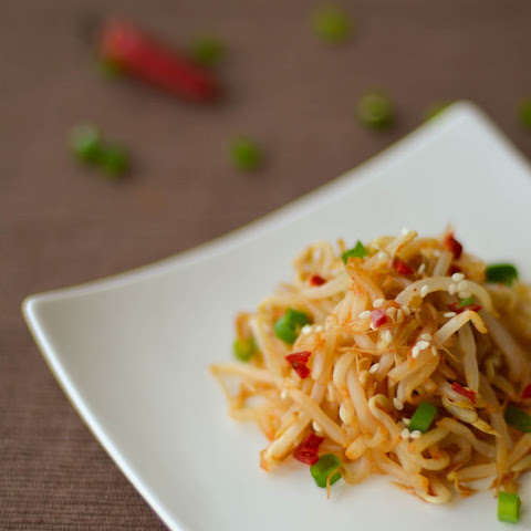 Spicy Korean Bean Sprout Salad